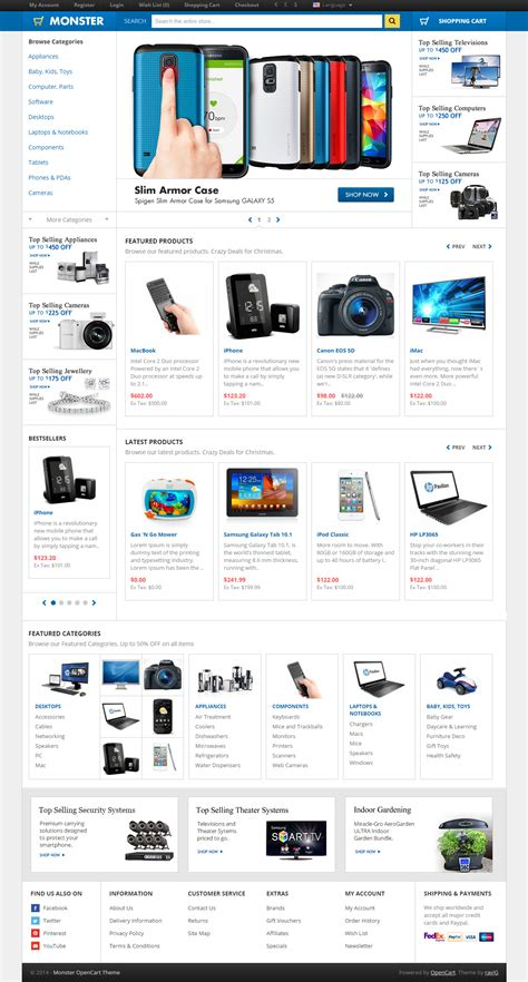 opencart templates responsive 40 best premium responsive opencart themes in 2017