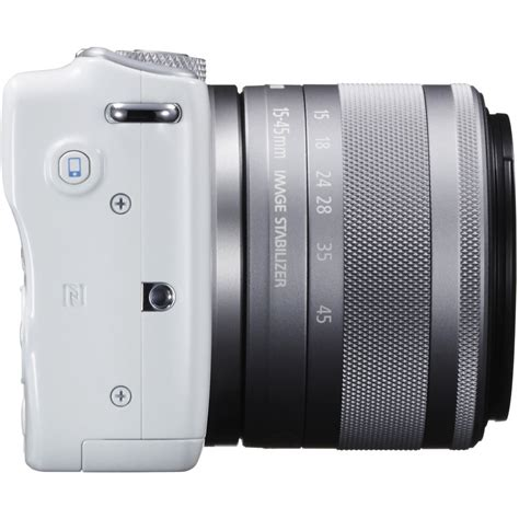 Eos M10 With Ef M 15 45mm White canon eos m10 mirrorless digital with 15 45mm lens
