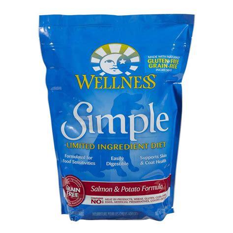 wellness simple food wellness simple grain free salmon potato formula