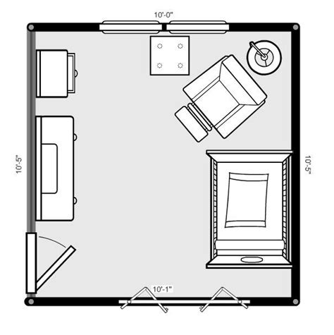 room blueprint nursery layout on