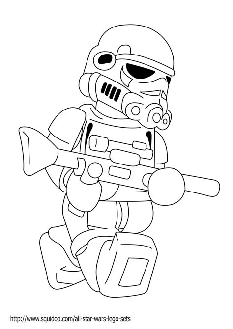 free coloring pages of star wars trooper