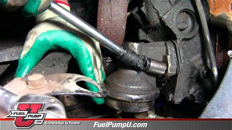 install mechanical fuel pump    chevrolet