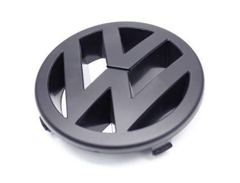 volkswagen logo black emblem vwj4 f black vw emblem front mk4 jetta