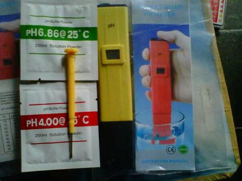 Nama Alat Ukur Ph Air jual ph meter cv javaindotech