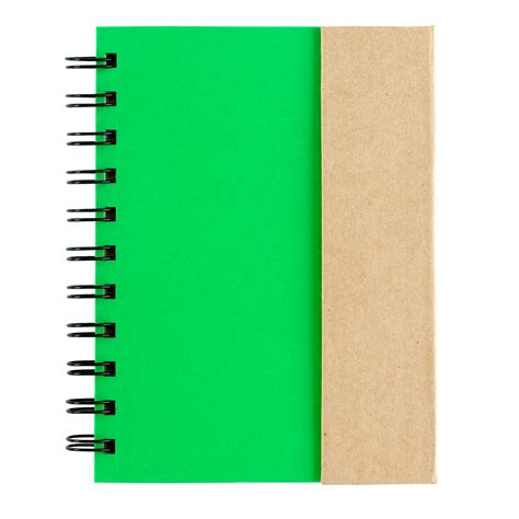 Printed Small Notebook small spiral notebook with sticky notes and flags custom