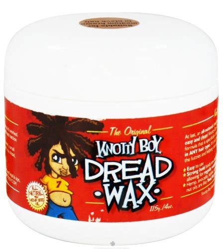 Knotty Boy Dread Wax Review by Discount Hair Pomades Waxes To Review Sale Bestsellers