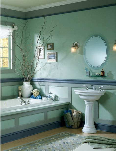 Decoration Ideas For Bathrooms Decorating Blue Bathroom Decosee