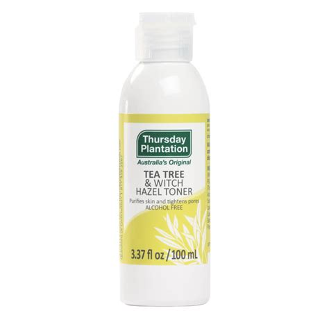 Toner Tea Tree tea tree witch hazel toner thursday plantation