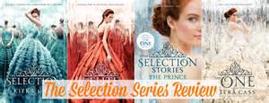 the selection 1 3 by kiera cass series review