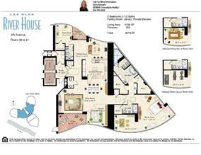 Home Floor Plans With Pictures by Las Olas River House Condos On The New River In Fort