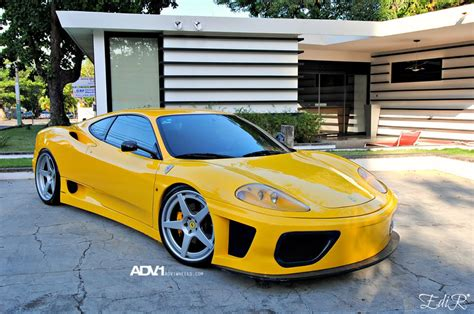 Ferrari 360 Modena Modified by Ferrari 360 Modena Custom Wheels Adv 1 5 Track Spec 20x8 5