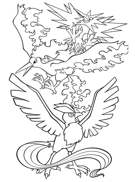 pokemon legendary coloring pages free printable pokemon coloring pages legendaries 10 jpg 736