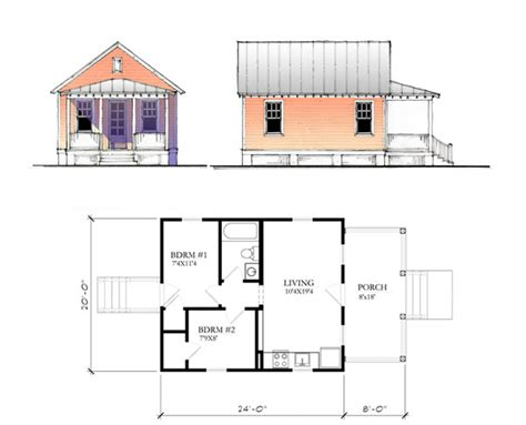 lowes building plans the katrina cottage model 480