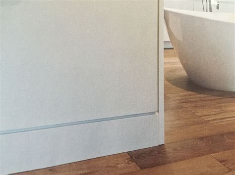 recessed baseboards another way to replace a baseboard flush with wall but i