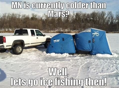 Ice Fishing Meme - funny fishing memes and pictures