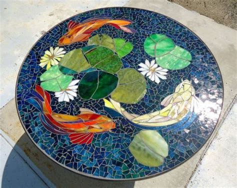mosaic koi pattern 5 hottest outdoor decor trends and 30 exles digsdigs