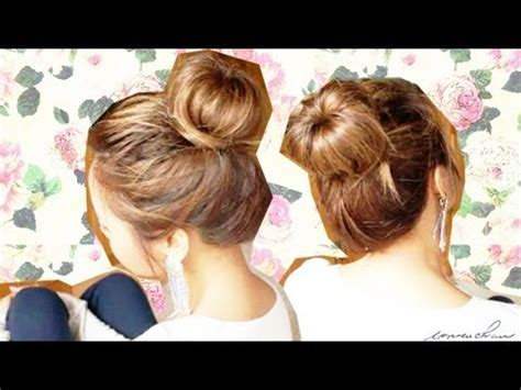 diy sock bun for hair a quot carefree quot bun hair tutorial diy sock bun
