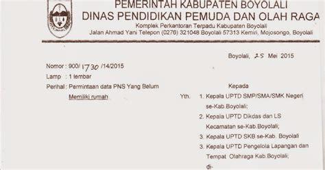 info sma smk kabupaten boyolali permintaan data pns yang