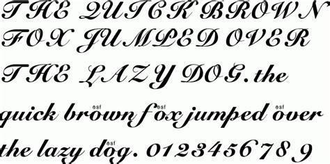 tattoo fonts cursive elegant free fonts cursive