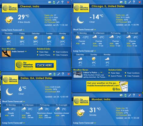 Desk Top Weather by Desktop Weather Software For Local Weather Forecast