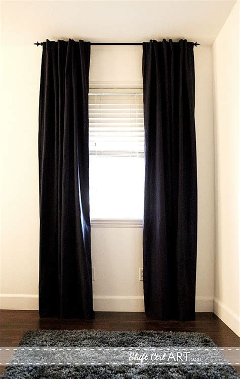 hemming curtains a home for design