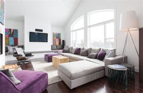 gray and purple living room ideas purple rooms and interior design inspiration