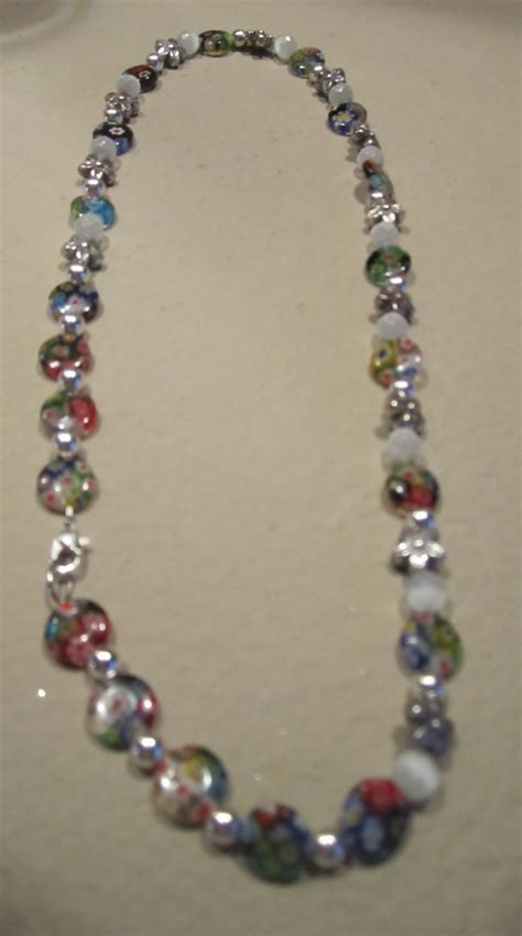 colorful necklaces handmade colorful beaded necklace casual design