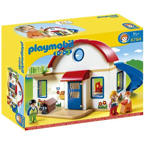 playmobil house playmobil 123 suburban house 6784 new ebay