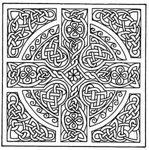 cross mandala coloring pages celtic crosses cross patterns and celtic on pinterest