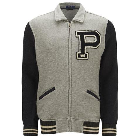 Jaket Basball Merah Putih Polos 1 polo ralph s baseball jacket regent free uk delivery 163 50