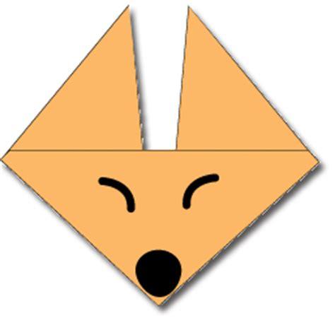 membuat origami wajah serigala  membuat origami