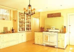 painting kitchen walls shades of yellow interior