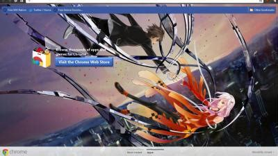 theme chrome guilty crown guilty crown chrome themes themebeta
