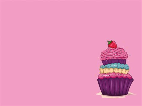 free templates for powerpoint cakes strawberry and cake powerpoint template ppt backgrounds