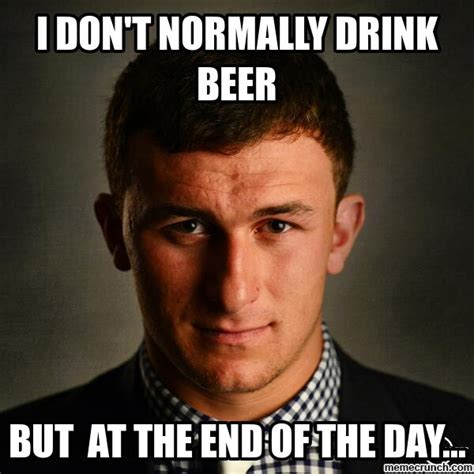 I Don T Usually Meme - i don t normally drink beer