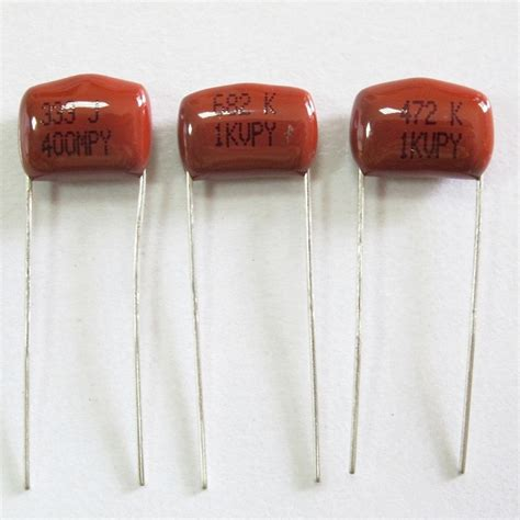 polypropylene capacitor polypropylene and foil capacitor