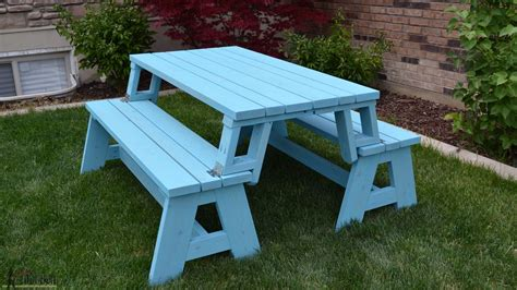 youtube bench convertible picnic table and bench youtube