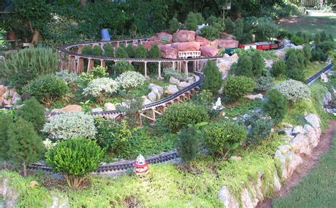 garden railway layout design development of the sandflea and redbud garden railway