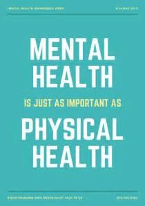 mental health poster templates canva
