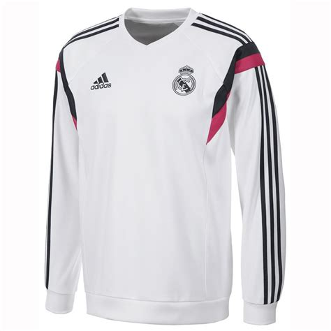 Sweater Real Madrid White 1415 real madrid 14 15 white sweatshirt real madrid