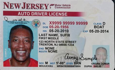 ohio drivers license template smiling frowned upon at nj dmv news