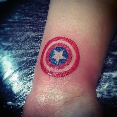 captain america shield tattoo 70 captain america designs for ink