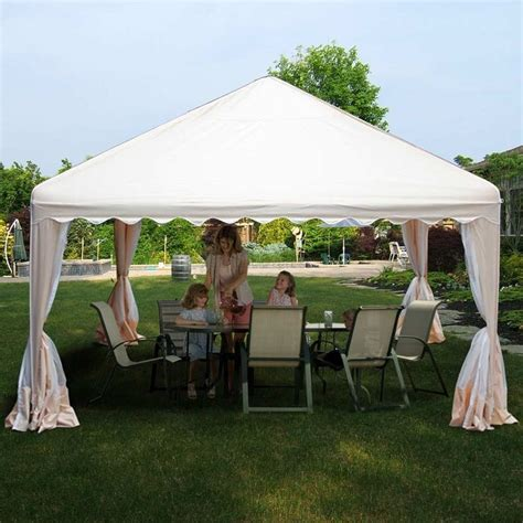 What Is Meant By Canopy by King Canopy 13 X 13 Almond Garden Canopy Is Meant