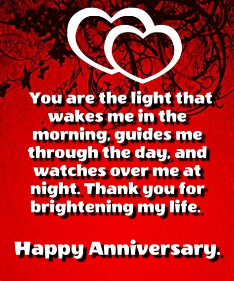 anniversary sentiments and poems for husband