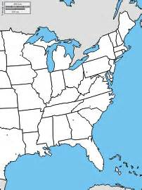 usa map east side east coast of the united states free maps free blank