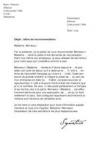 lettre de recommandation pour une naturalisation mod 232 le de lettre