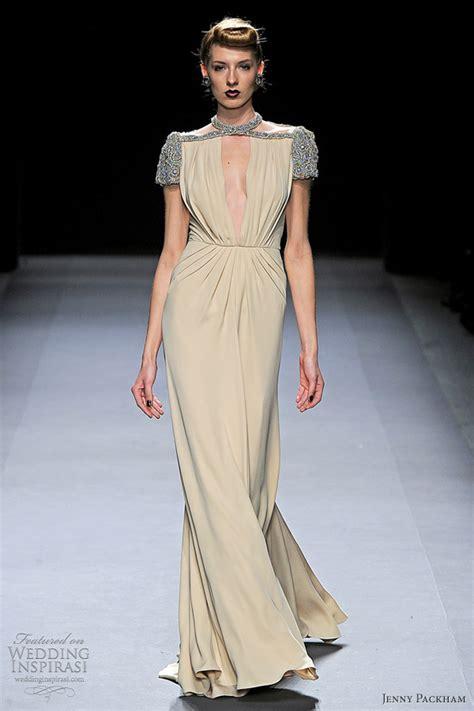 Catwalk To Carpet Fergie In Packham by Packham Fall Winter 2012 2013 Wedding Inspirasi