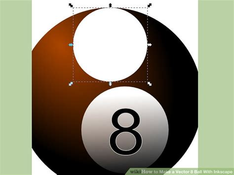 inkscape tutorial eight ball how to make a vector 8 ball with inkscape with pictures