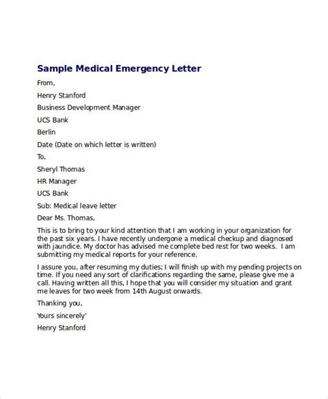 medical leave letter word excel documents