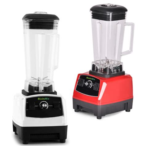 Blender Mixer Juicer bpa free 3hp 2200w heavy duty commercial grade blender